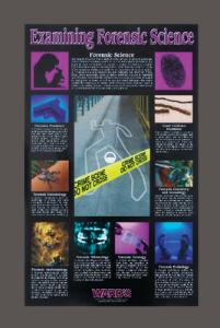 Ward's® Examining Forensic Science Poster