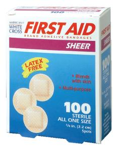 American® White Cross Adhesive Bandages, DUKAL™ Corporation