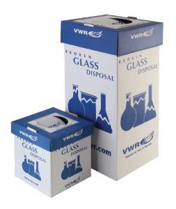 VWR® Glass Disposal Box